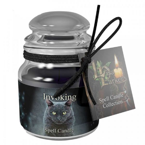Lisa Parker INVOKING Spell Candle Jar by Nemesis Now